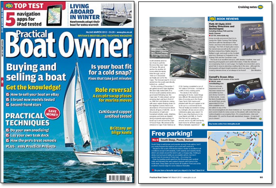 Review of Cornell's Ocean Atlas in Practical Boat Owner