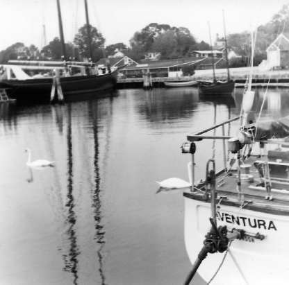 Aventura in Cape Cod Canal September 13, 1977