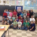 Students at Liberty Elementary School in Liberty, PA who are following No Regrets on the Blue Planet Odyssey adventure.