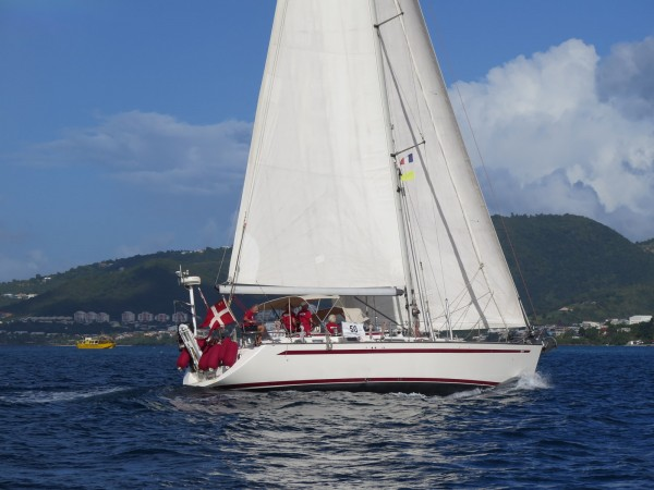 Lahaina arrives in Martinique