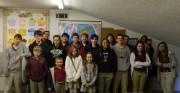Students attending the Good Shepherd Academy