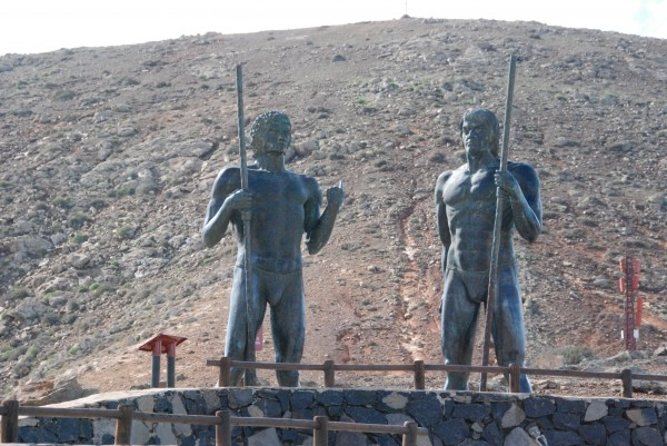 Guise and Ayose the indigenous kings of Fuerteventura