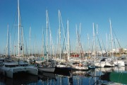 Island Odyssey yachts in Marina Lanzarote