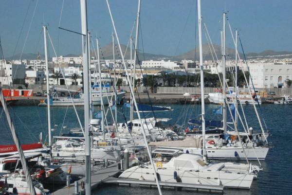 AO boats in Marina Lanzarote