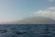 First sight of land after 5 days at sea (Photo: Kwanza)