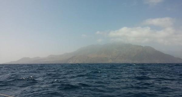 First sight of land after 5 days at sea (Photo: Kwanza)