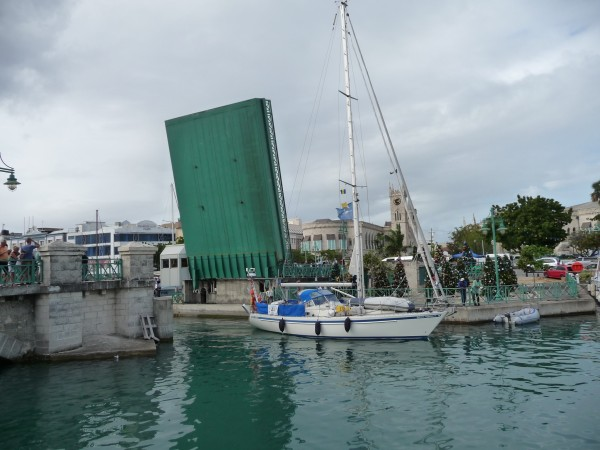 Hakuna Matata, the last Islands Odyssey boat to arrive in Barbados
