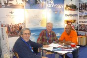 JC, Klaus and Peter Gilkes on CSE stand