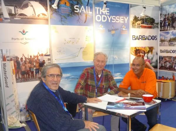 Klaus at Dusseldorf boat show
