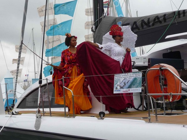 A touch of the Caribbean on the Outremer 5X