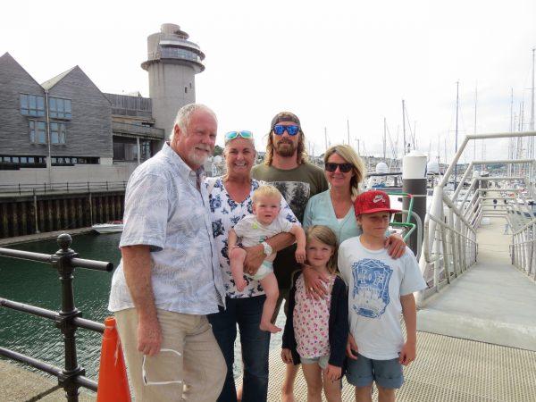 Final family farewells